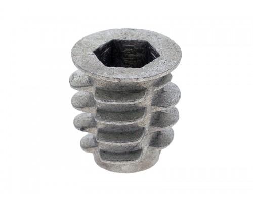 Муфта для ножки мебельной регулируемой М6 Металл